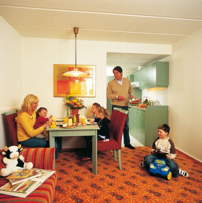 Apartmán - obývací část